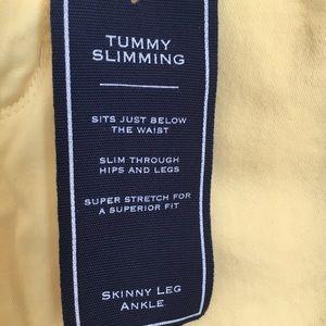 Charter Club Jeans - CHARTER CLUB Skinny leg yellow jeans NWT😆